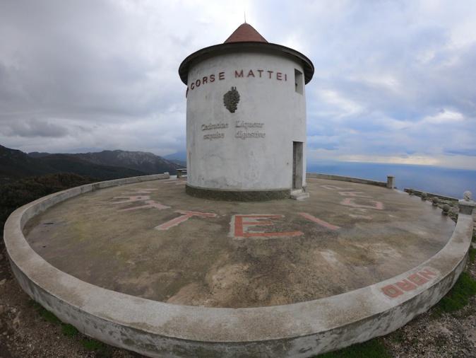 Paysages de Corse : Le moulin Mattei à Ersa