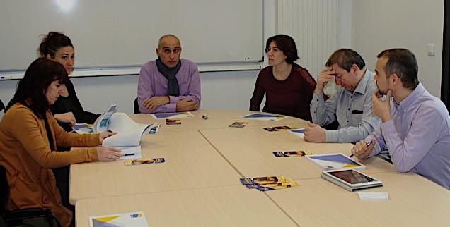 François-Marie Marchetti (au centre) a présenté ce nouveau service