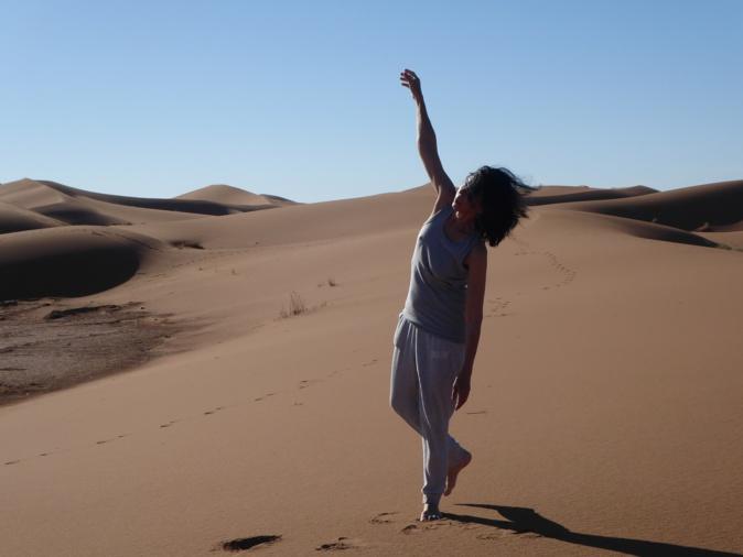 Hélène Taddei-Lawson : danse avec les dunes ...