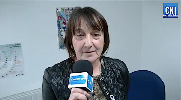 Francine Grilli, directrice du CIDFF de Haute-Corse
