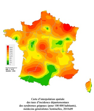 Santé : Léger recul de la grippe en Corse
