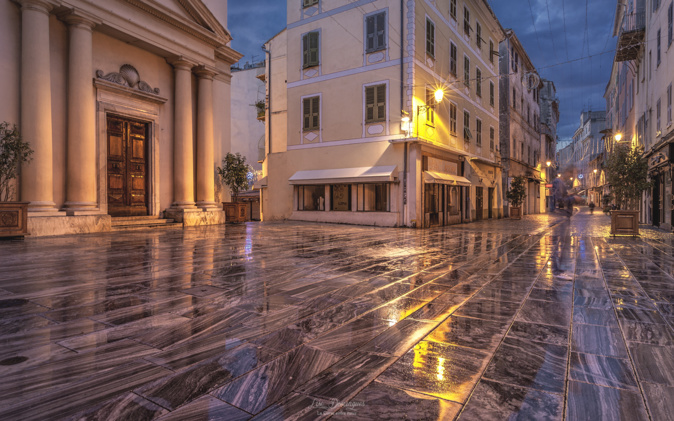 La photo du jour : Bastia au petit matin…