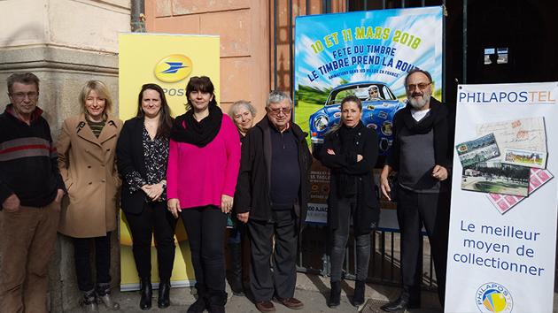 Ajaccio : Les voitures anciennes s'invitent à la fête du timbre