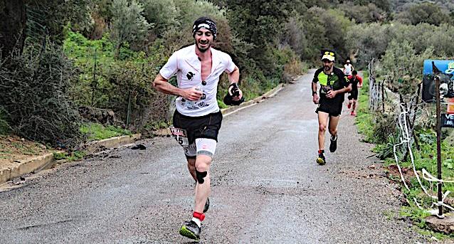 Le Trail de Palazzi-Sant'Anghjulu à Anthony Quilici