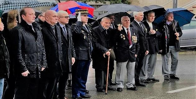 Ajaccio : Le rond-point des Médaillés militaires a été inauguré