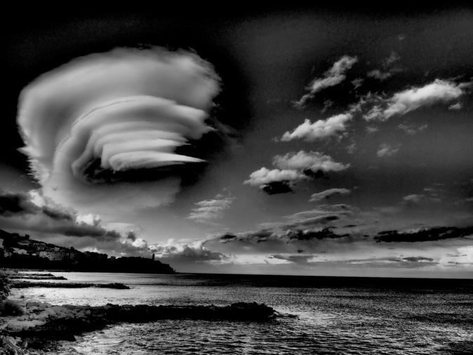La photo du jour : Bastia dans le vent…
