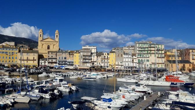 La photo du jour : Bastia et son Vieux-Port