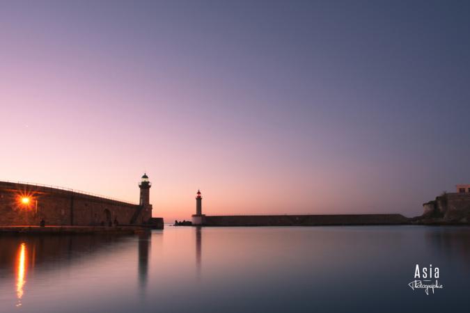 La photo du jour : Calme plat sur le plan d'eau du Vieux-Port de Bastia