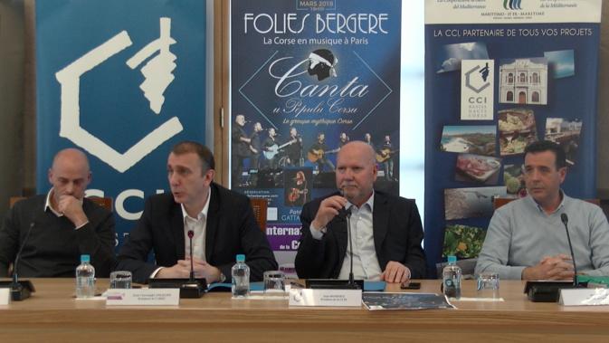 """""""La Corse en capitale à Paris"""" au Théâtre des """" Folies Bergère"""""""