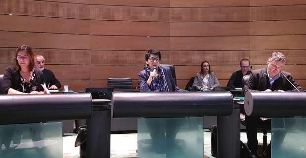Fabienne Giovannini, conseillère territoriale de Pè a Corsica, et nouvelle présidente de l'Office public de l'Habitat de Haute-Corse.