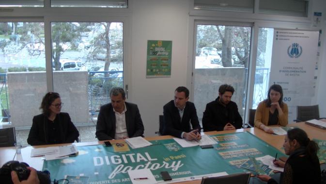 """Communauté d'agglo de Bastia : Journées découverte des arts et métiers du numérique """"in paesi"""""""