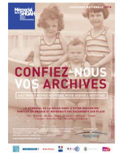 Campagne nationale de recueil d'archives :  Le mémorial de la Shoah vient à la rencontre du public ajaccien