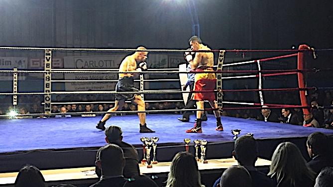 4ème combat professionnel pour l'Ajaccien Dimitri Gourier et 3ème succès.