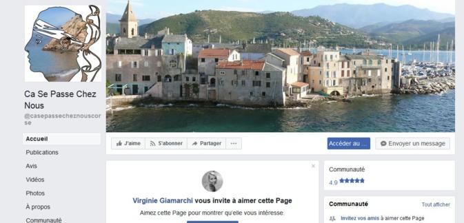 """""""Ça se passe chez nous"""" : Elle magnifie la Corse et ses habitants sur les réseaux sociaux !"""