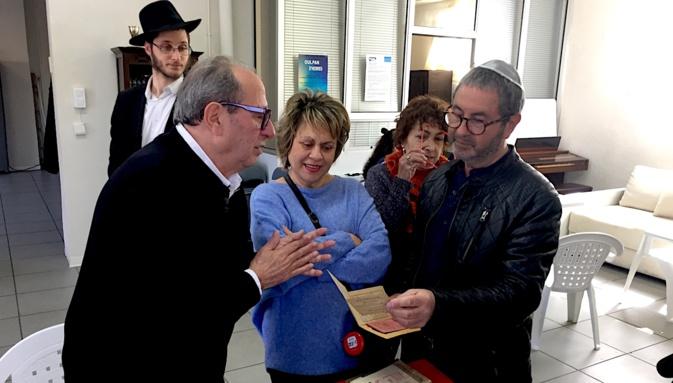 Une délégation du Mémorial de la Shoah pour la première fois en Corse ..