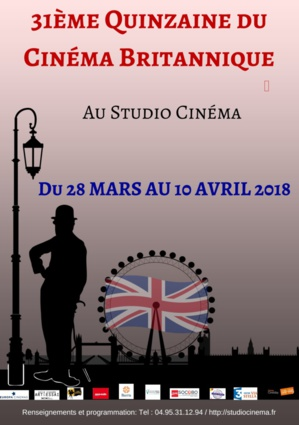 Bastia : 31ème quinzaine du cinéma britannique. Let's go !