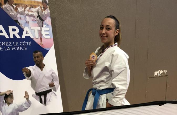 Karaté : Laetitia Feracci  championne de France universitaire !