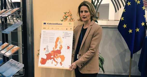 Nanette Maupertuis, conseillère exécutive en charge des questions européennes et présidente de l'Agence du tourisme (ATC).