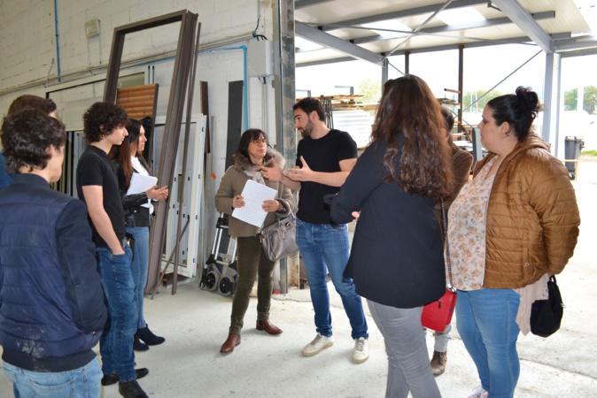 Semaine de l'industrie : De jeunes demandeurs d'emploi  sensibilisés à la menuiserie aluminium