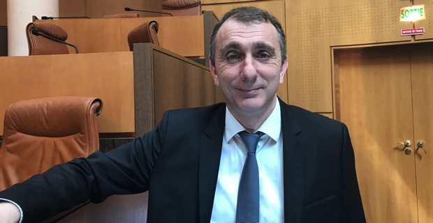 Jean-Christophe Angelini, conseiller exécutif et président de l'ADEC (Agence de développement économique de la Corse) et de l'Office foncier de la Corse.