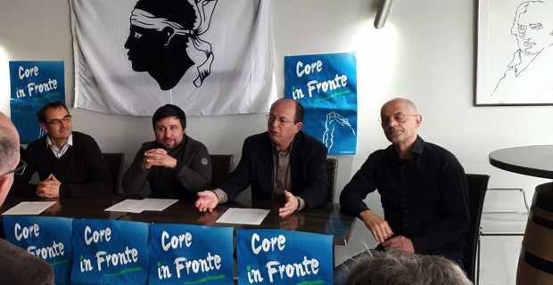 Réforme constitutionnelle : Core In Fronte demande un référendum local avant 2019