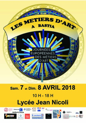 Artisanat: Les JEMA au lycée Jean-Nicoli de Bastia ce week-end