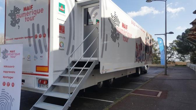 Bastia : Le « MAIF Numérique Tour » fait escale à Lupinu