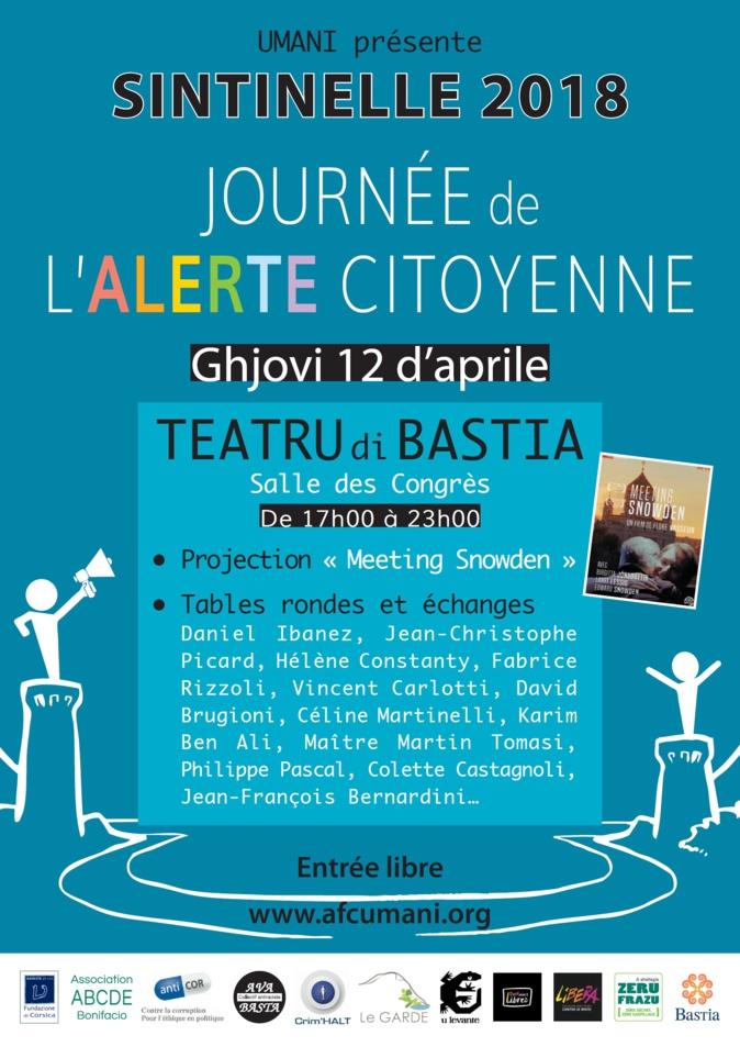 Bastia: Journée de l'alerte citoyenne