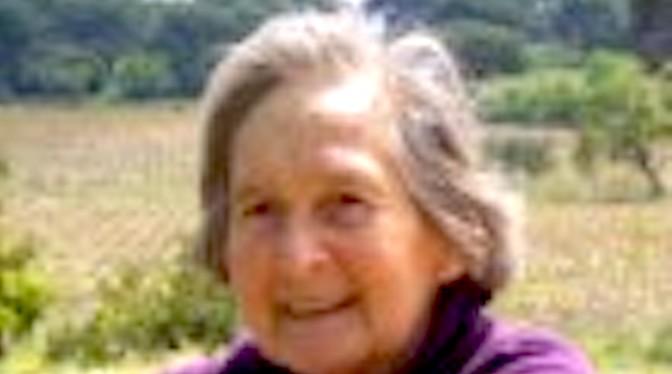 Décès à Calvi de Jacqueline Sauvageot