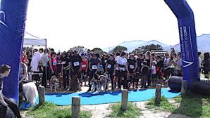 Furiani : Formidable succès du Cani-cross !
