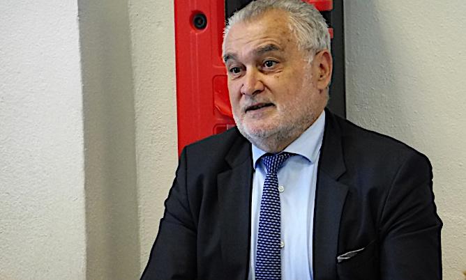 Gérard Romiti à la rencontre des élèves du lycée maritime de Bastia