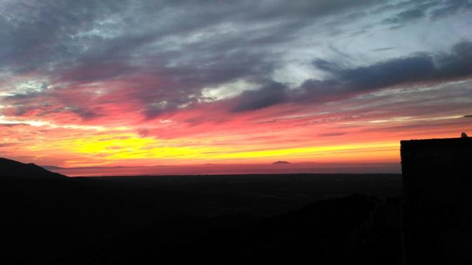 La photo du jour : Soleil levant sur la Tyrrhénienne