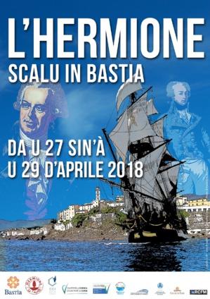 Bastia : La ville s'apprête à accueillir L'Hermione