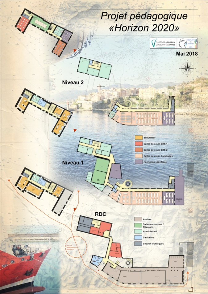 Bastia : Le lycée maritime veut mettre le cap sur 2020 !
