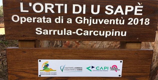 Sarrola-Carcopino : Des bénévoles préparent le jardin partagé