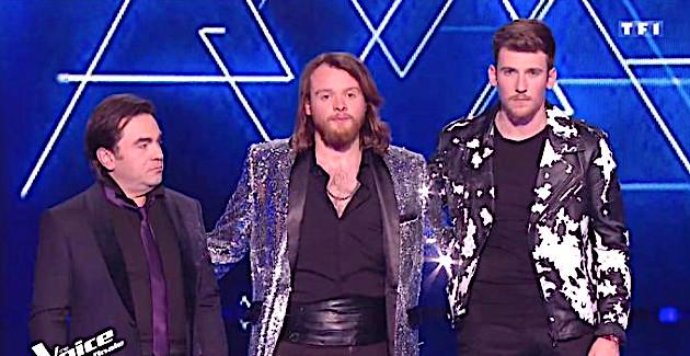 The Voice : Casanova en demi-finales