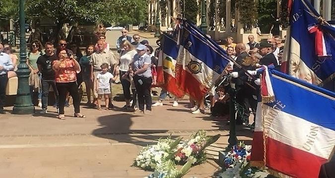 Ajaccio : Hommage aux victimes et héros de la Déportation
