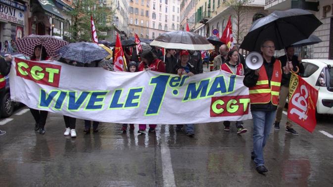 """Bastia : La CGT se """"mouille"""" pour les travailleurs"""