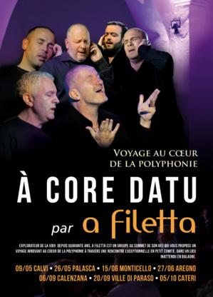 """""""A Core Datu"""" par """"A Filetta"""": Un nouveau voyage au coeur de la polyphonie"""