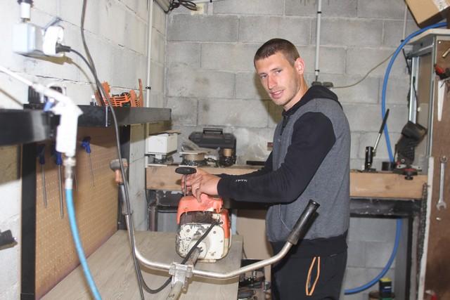 Calvi : Anthony Guidoni au service de la motoculture