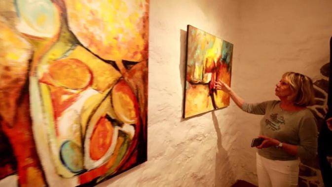 Ajaccio : Stéphanie Paoli et Marie-Paule Ascencio exposent à la galerie Corsic'Art Design