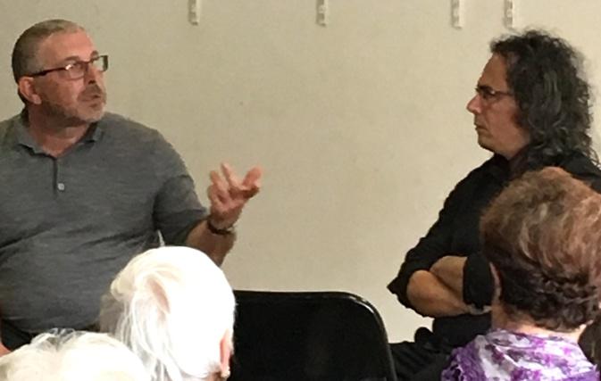 Marc Biancarelli et Stefanu Cesari