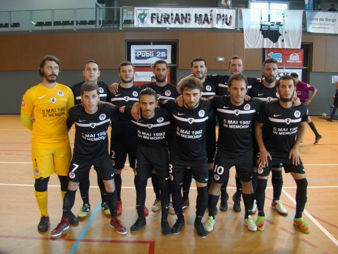 Futsal D2 : Vainqueur de Caen, Furiani sauve sa tête en D2