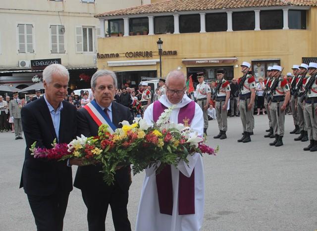 8-Mai 1945 : Messe, hommage aux morts et remise de décorations à Calvi