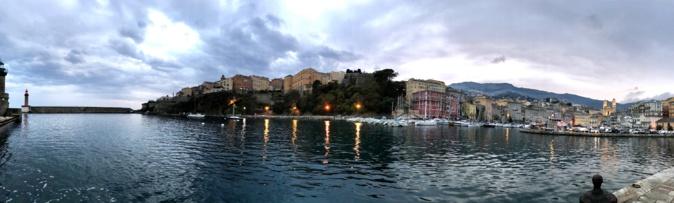 La photo du jour : Grand angle pour Bastia
