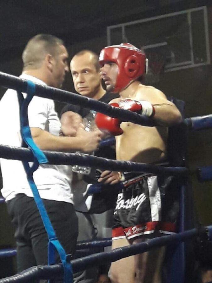 Alex Vasta et son coach Roger Santoni