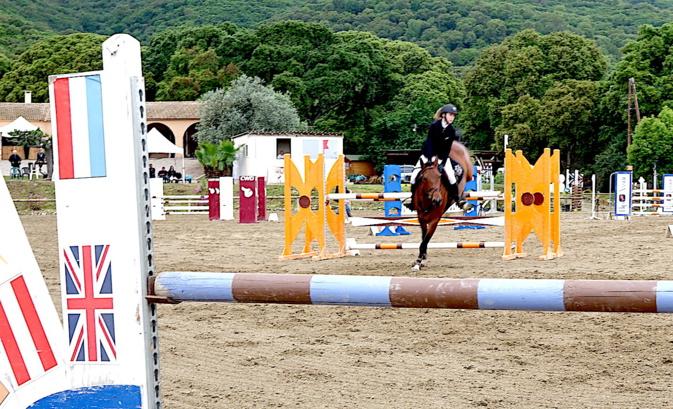 Jumping à Borgo : L'émotion au rendez-vous du challenge Nathalie-Ugolini