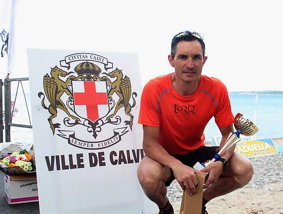 Belle victoire à Calvi de Nicolas Durin