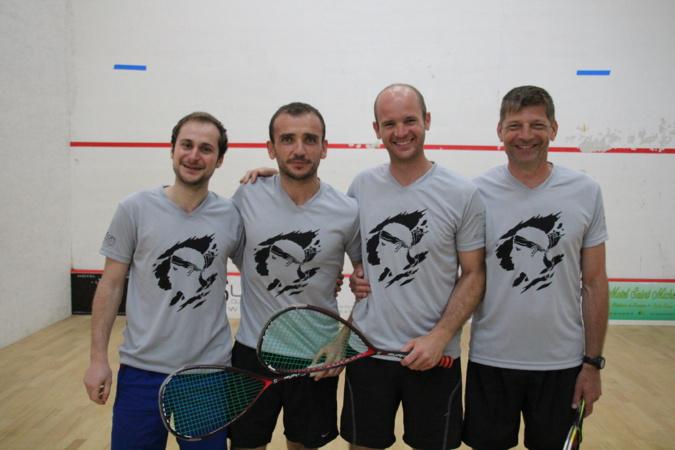 Un nouveau titre de champion de Corse pour le Squash:Loisirs l'Ile-Rousse-Balagne
