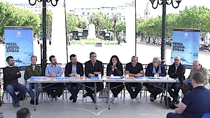 Présentation mardi matin de la 5ème édition de la Fête de la langue corse par la municipalité de Bastia